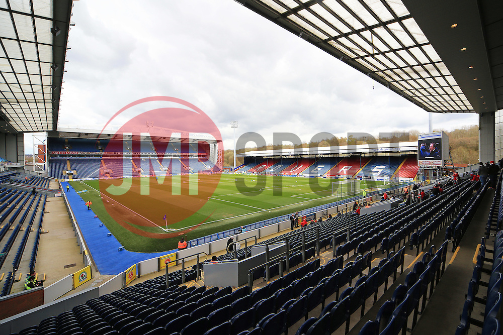 A general view of Ewood Park   - Mandatory by-line: Matt McNulty/JMP - 23/04/2016 - FOOTBALL - Ewood Park - Blackburn, England - Blackburn Rovers v Bristol City - Sky Bet Championship