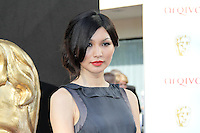 LONDON - MAY 27: Gemma Chan attends the Arqiva British Academy Television Awards at the Royal Festival Hall, London, UK. May 27, 2012. (Photo by Richard Goldschmidt)
