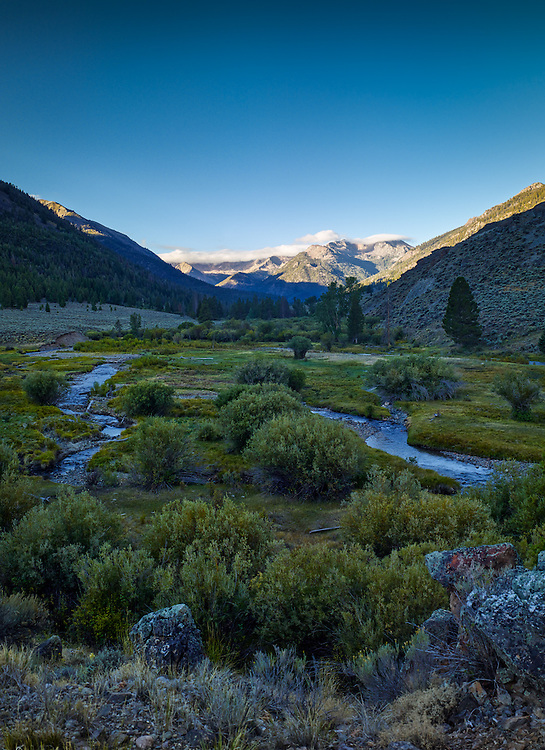 East Fork of the Salmon River, White Cloud Mountains, Idaho