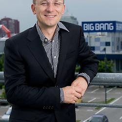 20090513: Portrait of Rok Ponikvar of Big Bang company