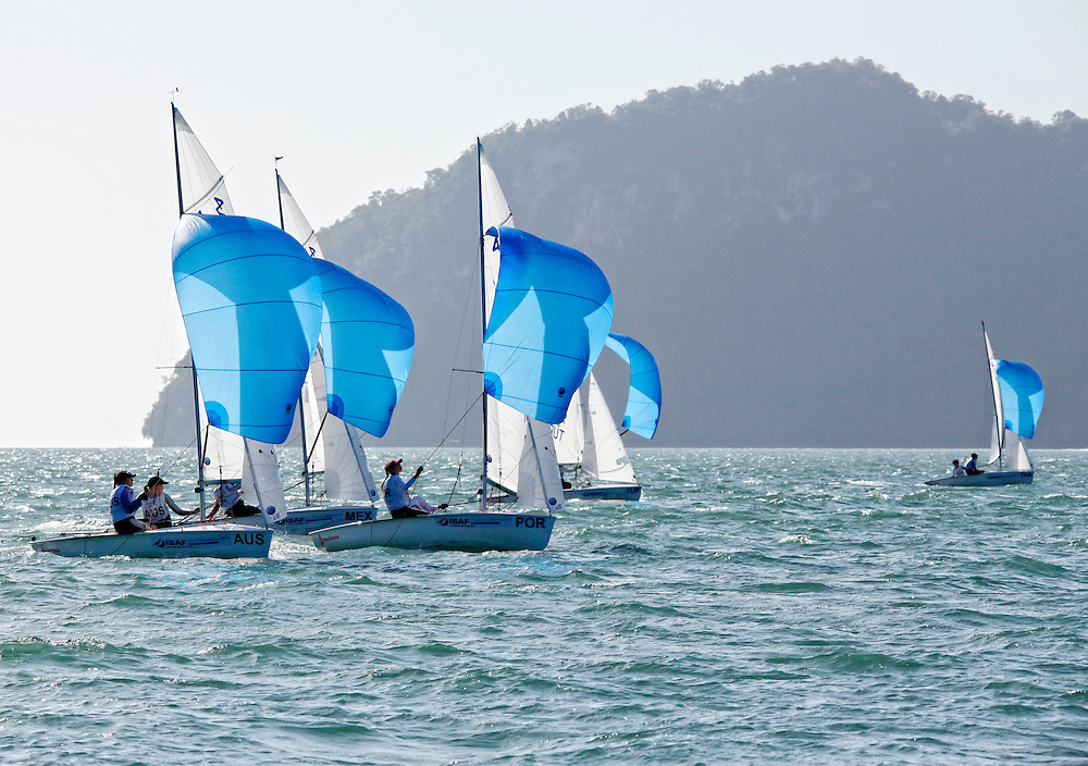 420 Women Fleet Race<br />