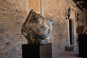 Emily Young,  The Cloister of Madonna Dell'Orto, Cannaregio 3512, Venice Biennale, Venice. 8 May 2015