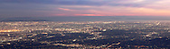 Panoramic View of Los Angeles from Mount Wilson Observatory, Angeles National Forest, California