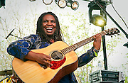 Ruthie Foster performs at the Old Settler's Music Festival in Driftwood, Texas, April 16, 2010.