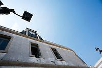 Vignacastrisi (frazione di Ortelle) Lecce.Scuola pubblico in disuso
