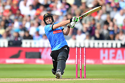 Sussex Sharks' Luke Wright hits a six during the Vitality T20 Blast Semi Final match on Finals Day at Edgbaston, Birmingham.