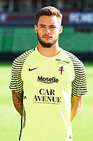 Thomas Didillon of Metz during photoshooting of Fc Metz for season 2017/2018 on August 2nd 2017 in Metz<br /> Photo : Fred Marvaux / Icon Sport