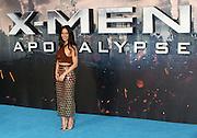 May 9, 2016 -  Olivia Munn attending 'X-Men Apocalypse' Global Fan Screening at BFI Imax in London, UK.<br /> ©Exclusivepix Media