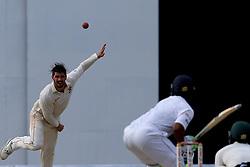 July 15, 2017 - Colombo, Sri Lanka - Zimbabwe's cricket captain Graeme Cremer delivers a ball during the 2nd day's play of the only test cricket match between Sri Lanka and Zimbabwe in Colombo, Sri Lanka, Saturday, July 15, 2017  (Credit Image: © Tharaka Basnayaka/NurPhoto via ZUMA Press)