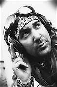 A Road Runner records DJ in New York City.<br /> <br /> <br /> MANDATORY CREDIT: M David Leeds