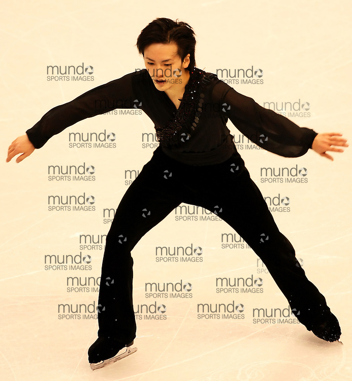 (Ottawa, ON---1 November 2008)  Yasuharu Nanri of Japan compete in the men's free skate at the 2008 HomeSense Skate Canada International figure skating competition. He finished eigth. Photograph copyright Sean Burges/Mundo Sport Images (www.msievents.com).