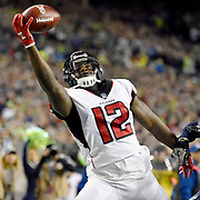The Atlanta Falcons top the Seattle Seahawks 34-31 in a hard fought battle at CenturyLink Field.<br /> <br /> <br /> November 21 2017; Seattle, Washington, <br /> <br /> Photo: Alika Jenner
