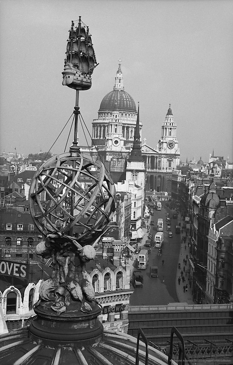 St. Paul's from Ludgate House, London, 1937