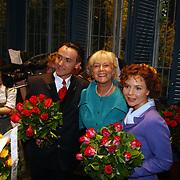 Premiere Sound of Music, Hugo Haenen, Anne-Wil Blankers en Maaike Widdershoven
