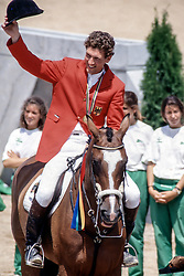 Beerbaum Ludger (GER) - Classic Touch<br /> Olympic Games Barcelona 1992<br /> © Dirk Caremans