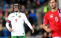Fotball<br /> UEFA Euro 2016 Matchday 3<br /> Norge v Bulgaria / Norway v Bulgaria 2:1<br /> 13.10.2014<br /> Foto: Morten Olsen, Digitalsport<br /> <br /> Ivelin Popov (9) - Kuban Krasnodar / BUL