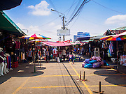 18 APRIL 2015 - BANGKOK, THAILAND:   The Chatuchak Weekend Market in Bangkok. Chatuchak Weekend Market in Bangkok is reportedly the largest market in Thailand and the world's largest weekend market. Frequently called J.J., it covers more than 35 acres and contains upwards of 5,000 stalls.       PHOTO BY JACK KURTZ