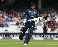 June 13, 2018 - London, England, United Kingdom - England's Jonny Bairstow .during One Day International Series match between England and Australia at Kia Oval Ground, London, England on 13 June 2018. (Credit Image: © Kieran Galvin/NurPhoto via ZUMA Press)