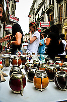 Mate Te for sale in San Telmo Market, Buenos Aires, Argentina Image by Andres Morya
