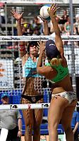 Volleyball, Sandvolleyball, World Tour Stavanger, Grand Slam, 30/06-05,<br />Ingrid Tørlen,<br />Foto: Sigbjørn Andreas Hofsmo, Digitalsport