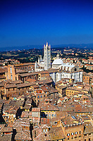 The Duomo (Cathedral) , Siena, Tuscany, Italy