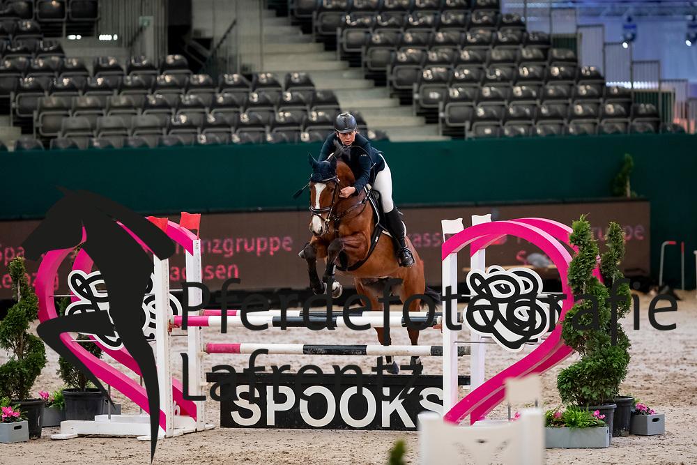 STRUCK Kerstin (GER), Remember Pepper<br /> Leipzig - Partner Pferd 2019<br /> SPOOKS-Amateur Trophy<br /> Small Tour<br /> 18. Januar 2019<br /> © www.sportfotos-lafrentz.de/Stefan Lafrentz