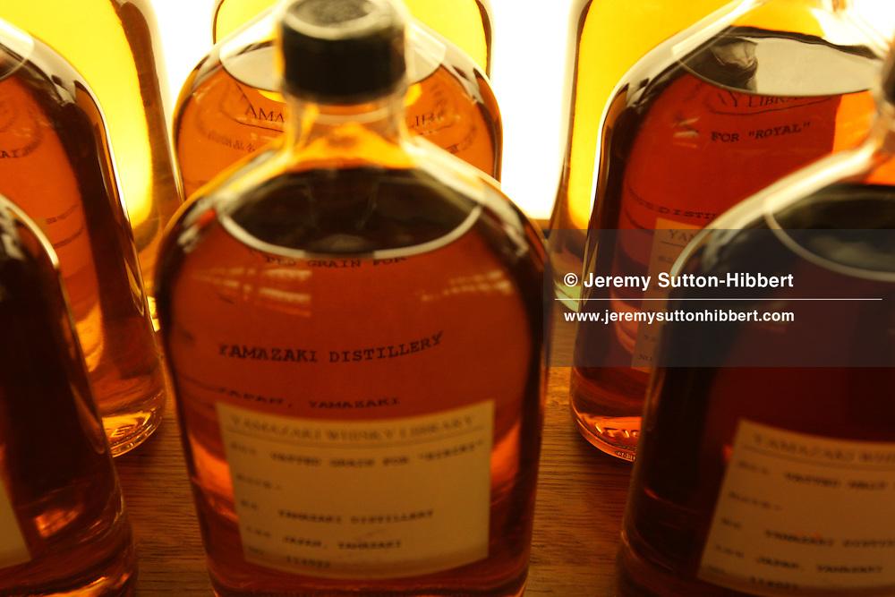 The Suntory Yamazaki single malt whisky distillery, Japan.