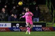 Forest Green Rovers goalkeeper James Montgomery during the EFL Sky Bet League 2 match between Forest Green Rovers and Mansfield Town at the New Lawn, Forest Green, United Kingdom on 29 January 2019.