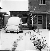 Volkswagan Car covered in snow<br /> 01.01.1962