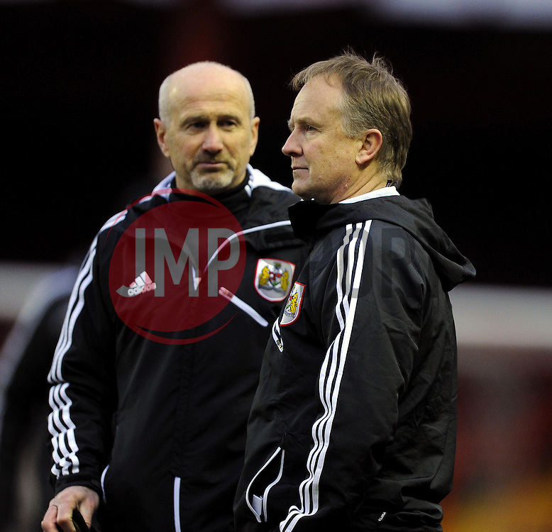 Bristol City Head coach, Sean O'Driscoll in post match discussions  - Photo mandatory by-line: Joe Meredith/JMP - Tel: Mobile: 07966 386802 23/02/2013 - SPORT - FOOTBALL - Ashton Gate - Bristol -  Bristol City V Barnsley - Npower Championship