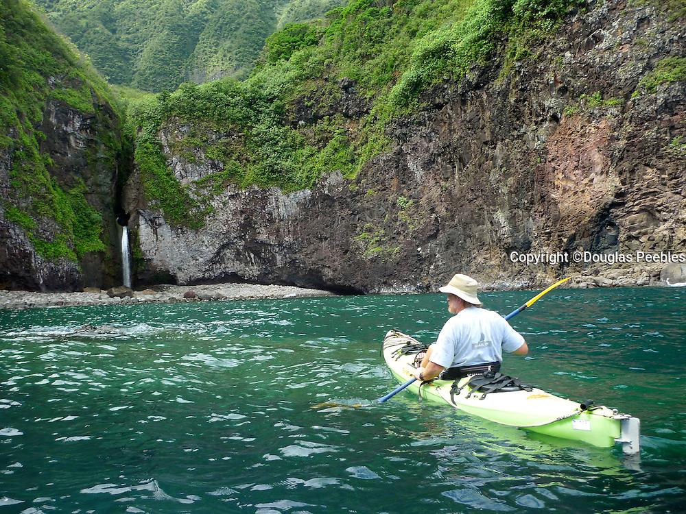 Ha'upu Bay, North Shore, Molokai, Hawaii