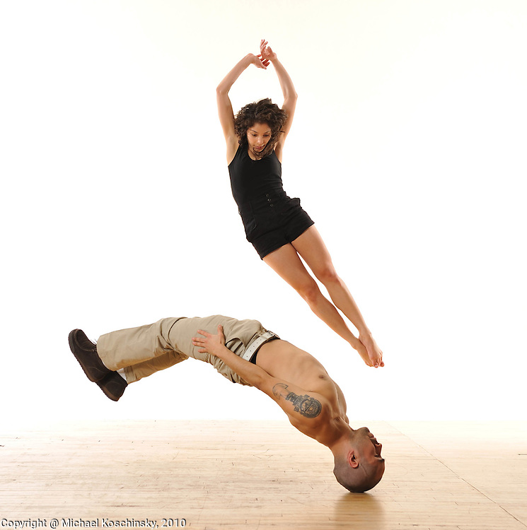 Elise Victoria Drew & Ivan de Leon, NYC 2010