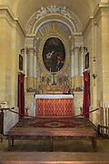 St Agatha's chapel, medieval city of Mdina, Malta rebuilt 1694