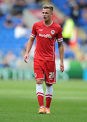 Cardiff City's Joe Ralls - Photo mandatory by-line: Alex James/JMP - Mobile: 07966 386802 30/08/2014 - SPORT - FOOTBALL - Cardiff - Cardiff City stadium - Cardiff City  v Norwich City - Barclays Premier League