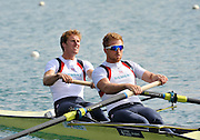 Caversham, Great Britain. GBR M2- bow George NASH and Will SATCH.  2012 GB Rowing World Cup Team Announcement Wednesday  04/04/2012  [Mandatory Credit; /Intersport-images]