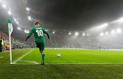 20.10.2016, Weststadion, Wien, AUT, UEFA EL, SK Rapid Wien vs US Sassuolo Calcio, Gruppe F, im Bild Louis Schaub (SK Rapid Wien) // during a UEFA Europa League, group F game between SK Rapid Wien and US Sassuolo Calcio at the Weststadion, Vienna, Austria on 2016/10/20. EXPA Pictures © 2016, PhotoCredit: EXPA/ Sebastian Pucher