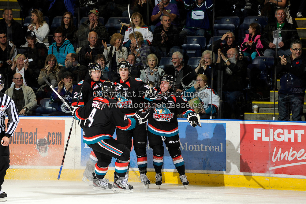KELOWNA, CANADA - NOVEMBER 4:   at the Kelowna Rockets at Prospera Place on November 4, 2011 (Photo by Marissa Baecker/Shoot the Breeze) *** Local Caption ***
