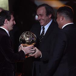 20120109: SUI, Football - Award ceremony of FIFA Ballon D'Or 2011
