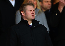 Former England and Yorkshire Cricketer Matthew Hoggard in the stands at The City Ground to watch Nottingham Forest v Arsenal in the FA Cup - Mandatory by-line: Robbie Stephenson/JMP - 07/01/2018 - FOOTBALL - The City Ground - Nottingham, England - Nottingham Forest v Arsenal - Emirates FA Cup third round proper
