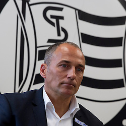 20130606: AUT, Football - Darko Milanic, New head coach of SK Sturm Graz