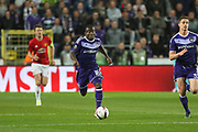 Anderlecht Midfielder Frank Acheampong during the UEFA Europa League Quarter-final, Game 1 match between Anderlecht and Manchester United at Constant Vanden Stock Stadium, Anderlecht, Belgium on 13 April 2017. Photo by Phil Duncan.