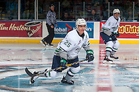 KELOWNA, CANADA - DECEMBER 7: Ethan Bear #25 of the Seattle Thunderbirds skates against the Kelowna Rockets on December 7, 2016 at Prospera Place in Kelowna, British Columbia, Canada.  (Photo by Marissa Baecker/Shoot the Breeze)  *** Local Caption ***