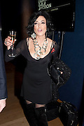 NANCY DELL D'OLIO, Annual Lighthouse Gala Auction in aid of the Terrence Higgins Trust.  Christie's, King St. London. 21 March 2011. .-DO NOT ARCHIVE-© Copyright Photograph by Dafydd Jones. 248 Clapham Rd. London SW9 0PZ. Tel 0207 820 0771. www.dafjones.com.