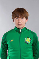 Portrait of Chinese soccer player Piao Cheng of Beijing Sinobo Guoan F.C. for the 2017 Chinese Football Association Super League, in Benahavis, Marbella, Spain, 18 February 2017.