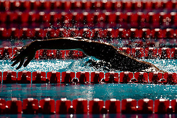 An athlete during the Men's  400m Individual Medley Heats during the 13th FINA World Championships Roma 2009, on August 2, 2009, at the Stadio del Nuoto,  in Foro Italico, Rome, Italy. (Photo by Vid Ponikvar / Sportida)