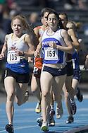 John, Keltie competing in the Junior Girls 1500m at the 2007 OTFA Junior-Senior Championships in Ottawa.
