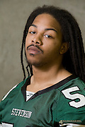 Head shots for next years returning football players.