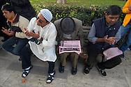 Roma, 03/11/2005: Eid-ul-Fitr, Festa di fine Ramadan della Comunità Bengalese nei giardini di Piazza Vittorio - Eid-ul-Fitr, the Feast of end of Ramadan, Bengali Community in the gardens of Piazza Vittorio.©Andrea Sabbadini