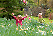 "5/4/2012. News... FREE TO USE IMAGE... <br /> Waterford Garden Trail Launch... <br /> Pictured at Dromana House and Gardens, Cappoquin, Co.Waterford are Alice Roch-Perks (5) and Harry Roch-Perks (3) join in the fun at the launch of the Waterford Garden Trail Festival 2012. The Festival runs from May 1 to 13 and the 12 gardens and three garden centres on the trail will all  be open to the public and host a series of events for all throughout the festival. For more, log on to www.waterfordgardentrail.com. Photo Patrick Browne.<br /> <br /> For immediate release<br /> <br /> Further information available from Kristin Jameson (058) 54405 or (086) 811 3841<br /> <br /> Some of Irelands finest historic houses to open their gardens as part of  Waterford Garden Trail<br /> <br /> <br /> The owners of some of Waterford's finest historic houses are to throw open their magnificent gardens to the public as part of the first every Waterford Garden Festival which starts at the beginning of May.<br />                          <br /> Gardening enthusiasts and the public will have the unique opportunity to visit some of the finest gardens in the country during the two weeks of the Festival which will feature a number of older gardens which have been lovingly restored through the years.<br /> <br /> A total of 15 gardens, comprising of 12 privately owned gardens throughout County Waterford, and three garden centres in the area, are taking part in the festival. Some of the great local houses taking part include Lismore Castle, Cappoquin House and Garden and Dromana House and Gardens and many more treasures dotted around the county.<br /> <br /> Lord Burlington of Lismore Castle said at the launch of details of the Waterford Garden Festival today that it is only right that gardens traditionally enjoyed by their owners should now be open to the wider public. Lismore Castle Gardens are among the oldest cultivated gardens open to the public anywhere in the country. They have been open since Lord Burlington's grandfather's time. <br /> <br /> ""I feel very lucky. It i"