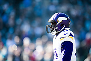 December 10, 2017: Minnesota vs Carolina. Vikings player